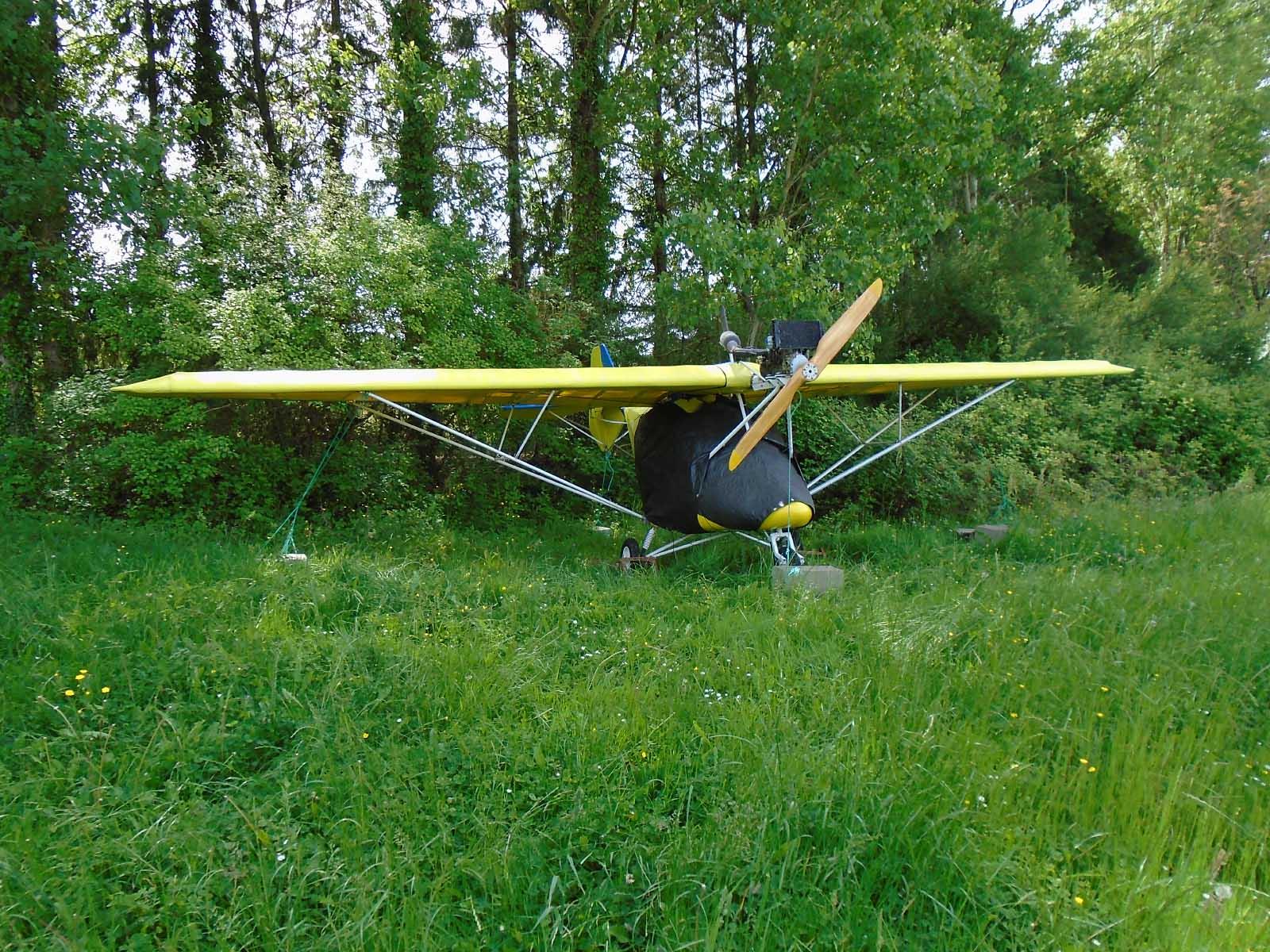 X-Air 56NE, Galinat, Dordogne 2015