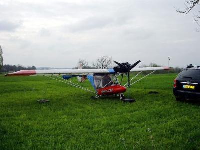 Cyclone AX3 G-MYRO Dordogne, France April 2012