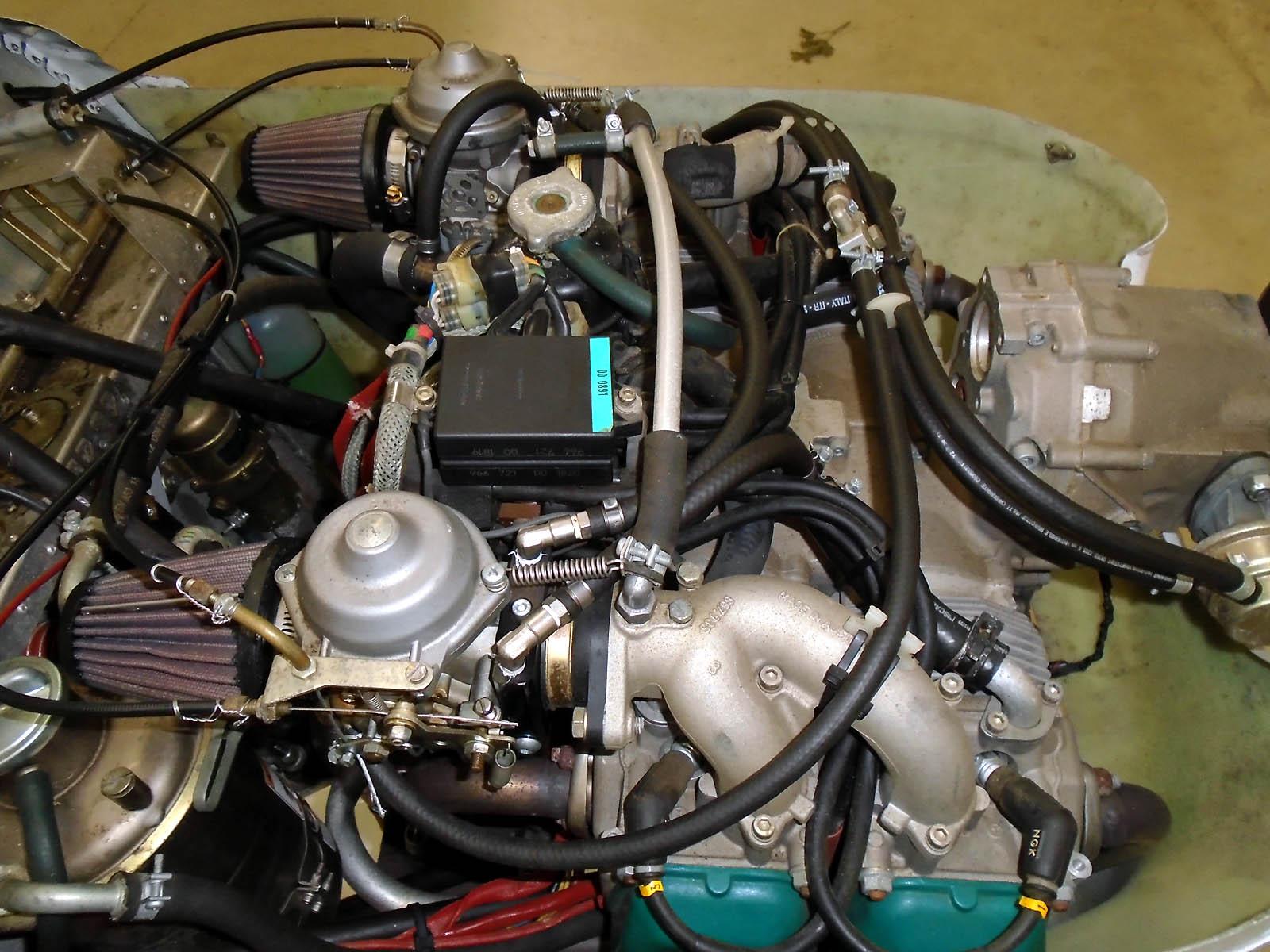 ICP Savannah MXP 740 Rotax engine