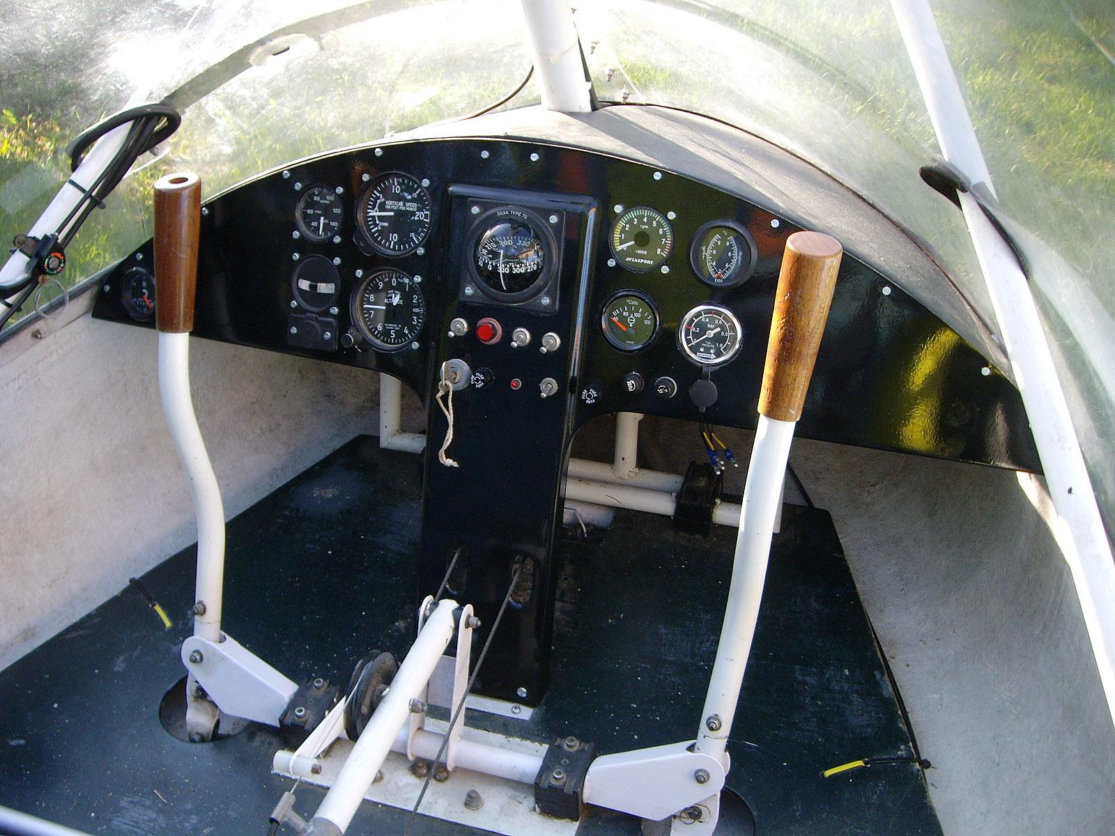 X-Air 56NE's New Panel, Dordogne 2013