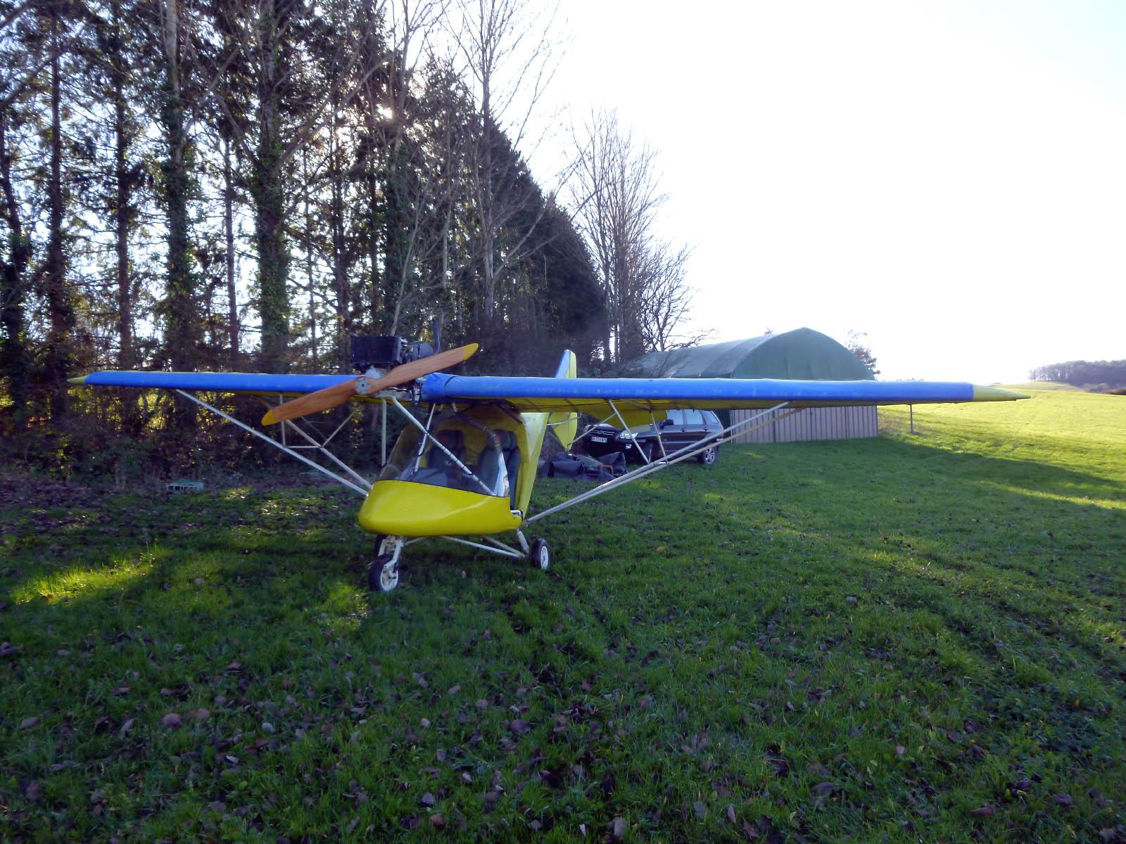 X-Air 56NE, Galinat, Dordogne 2014