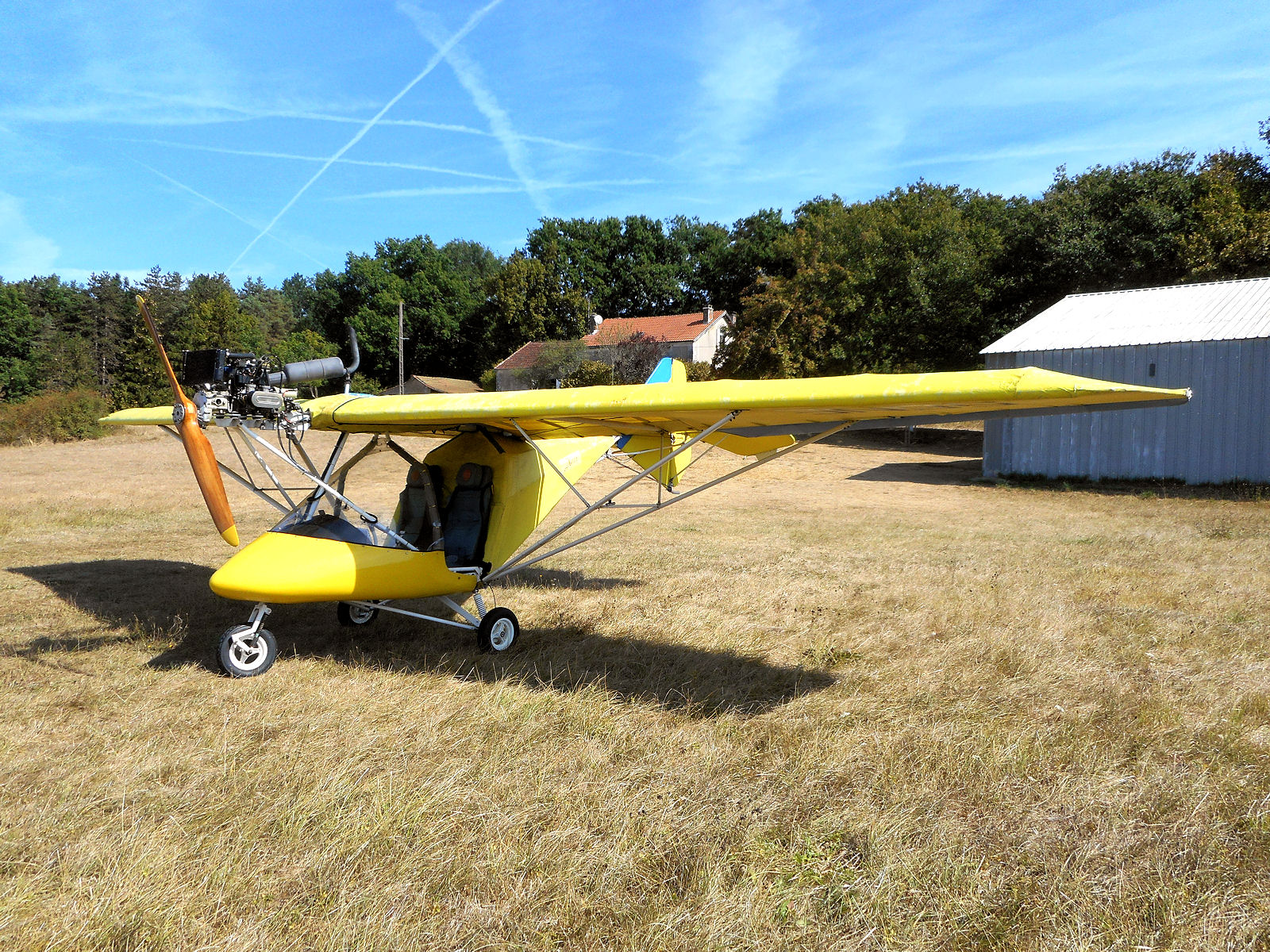 X-Air 56NE, Valeuil, Perigord 2016